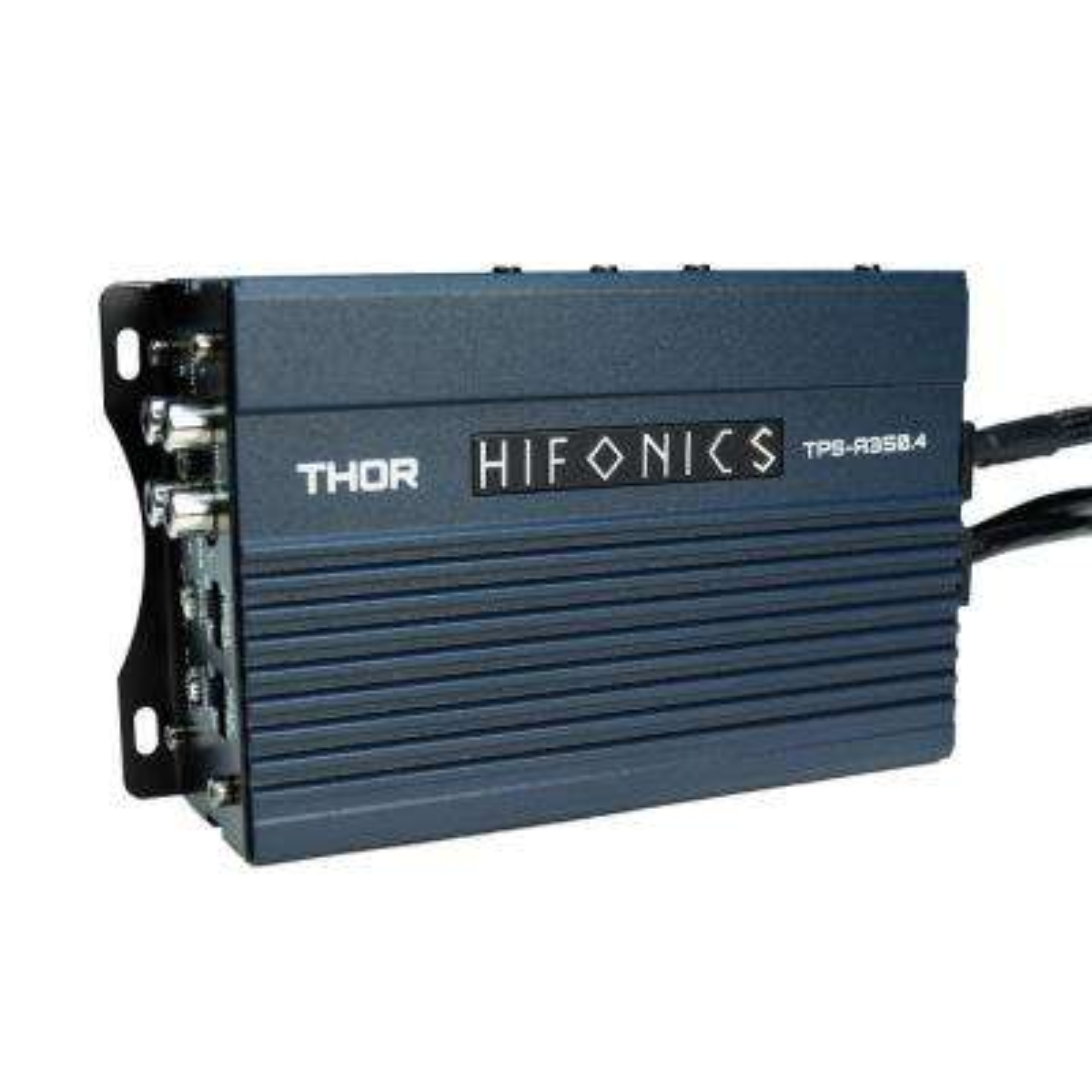 Hifonics THOR Compact 350-Watt 4-Channel Marine Audio Amplifier