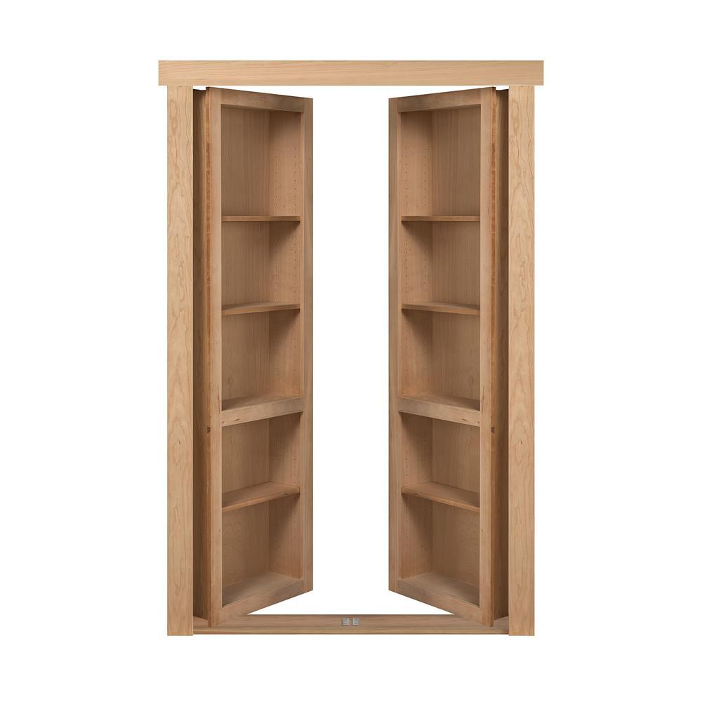 Prehung doors interior closet doors the home depot for Flush solid core wood interior doors