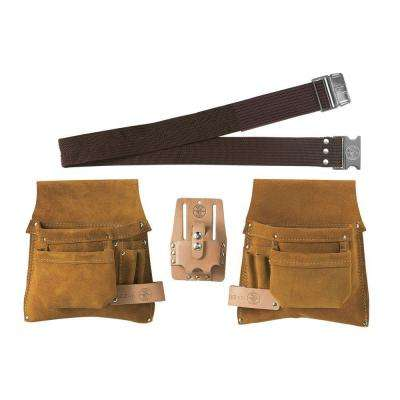 Nail/Screw and Tool-Pouch Combination