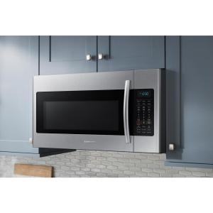 Samsung 30 in W 18 cu ft Over the Range Microwave in Stainless
