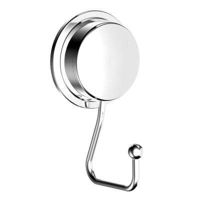 Twist 'N' Lock Plus Robe Hook in Chrome