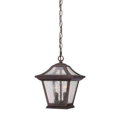 Aiken 2-Light Architectural Bronze Outdoor Hanging Lantern