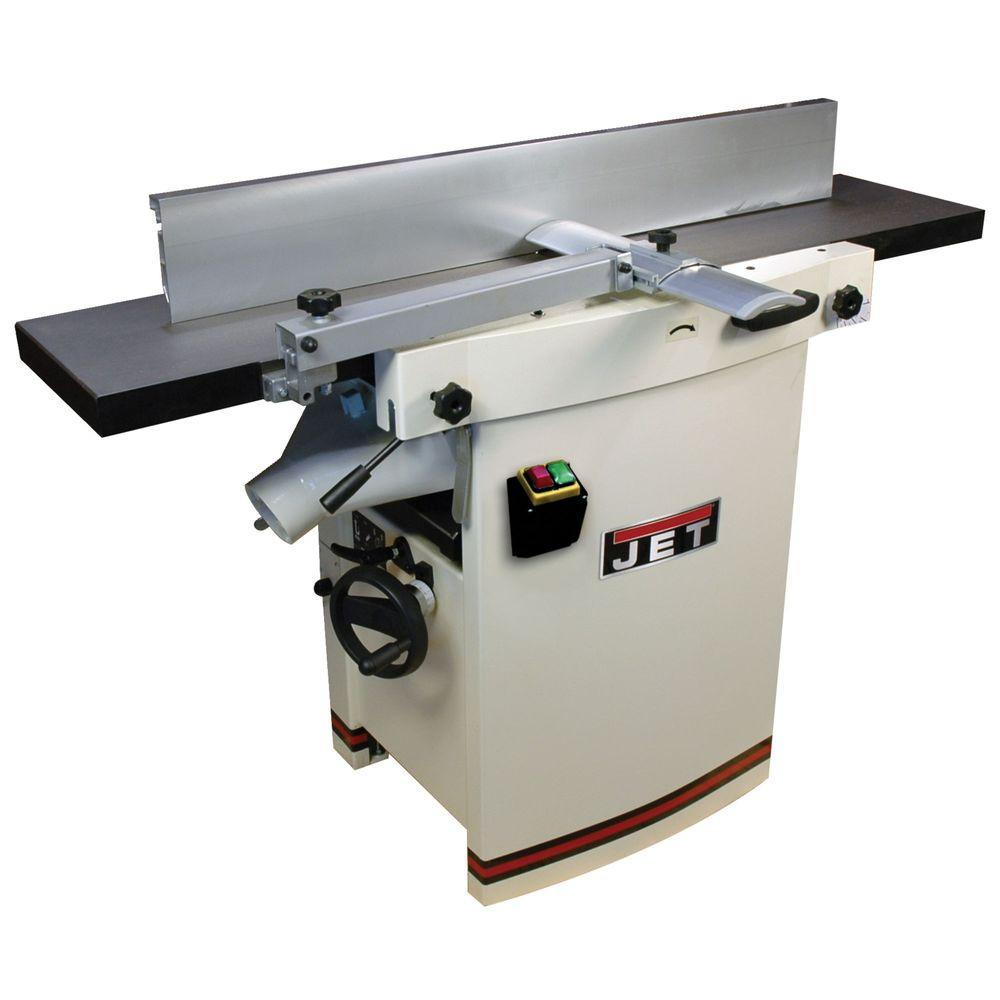 JET 230-Volt, JJP-12 3 HP 12 in. Industrial Woodworking Planer and Jointer Combo with Closed Stand