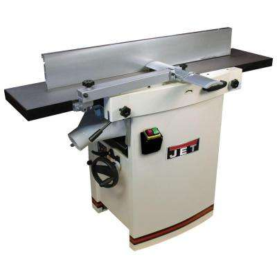 230-Volt, JJP-12 3 HP 12 in. Industrial Woodworking Planer and Jointer Combo with Closed Stand