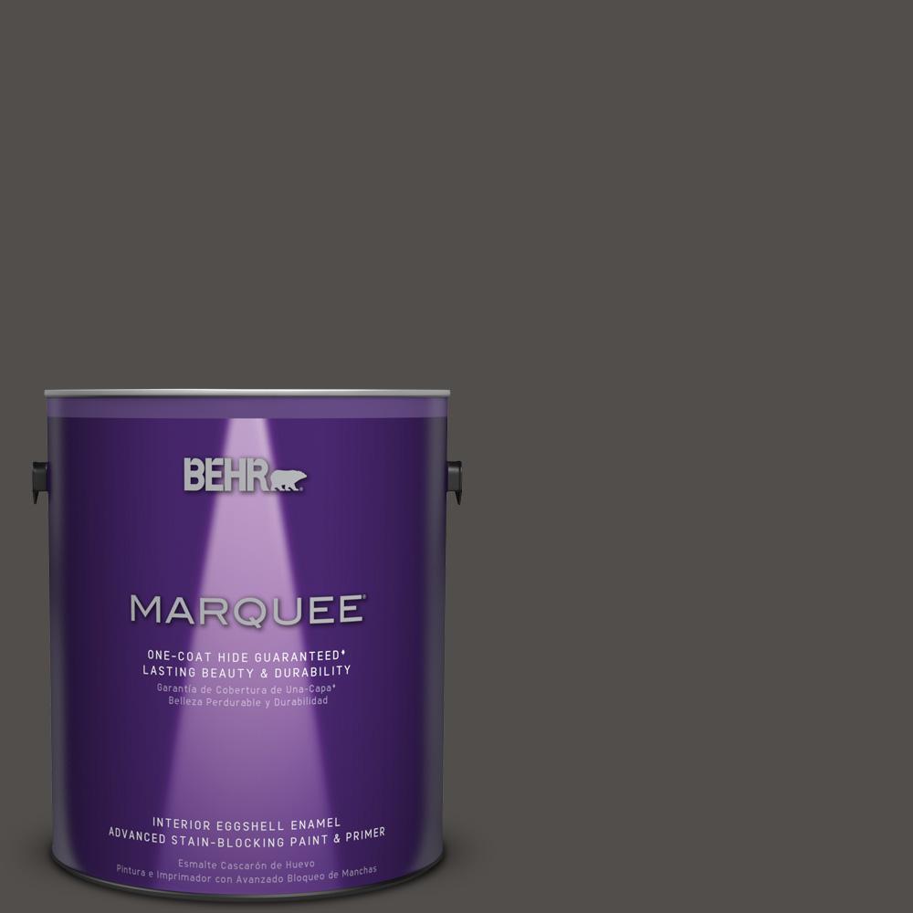 1 gal. #PPU24-02 Berry Brown Eggshell Enamel Interior Paint