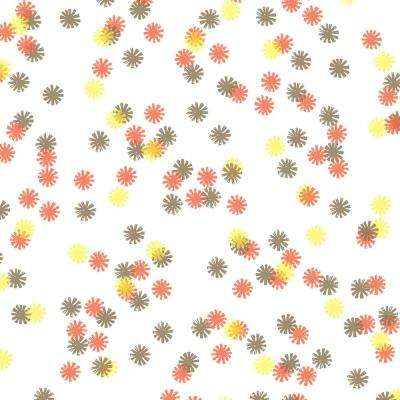 8 in. x 10 in. Laminate Sheet in Autumn Lights Daisy with Virtual Design Matte Finish