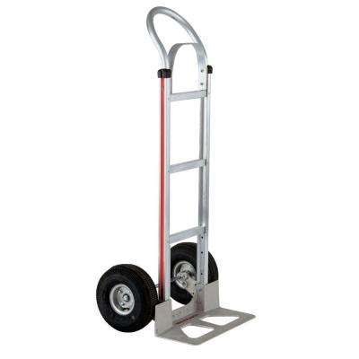 500 lb. Capacity Aluminum Modular Hand Truck with Horizontal Loop Handle, Brace, and Pneumatic Wheels