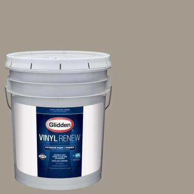 5 gal. #HDGWN51 Driftwood Grey Low-Lustre Exterior Paint with Primer