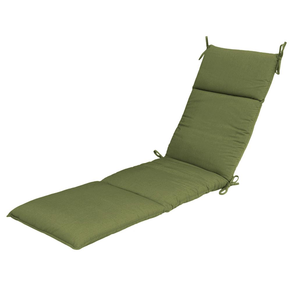 Sunbrella Spectrum Cilantro Outdoor Chaise Cushion