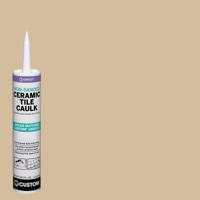 Polyblend #122 Linen 10.5 oz. Non-Sanded Ceramic Tile Caulk