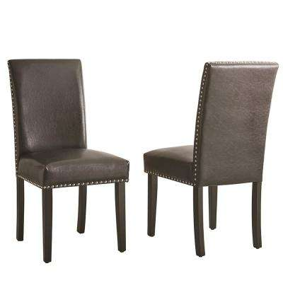 Verano Black Side Chair (Set of 2)