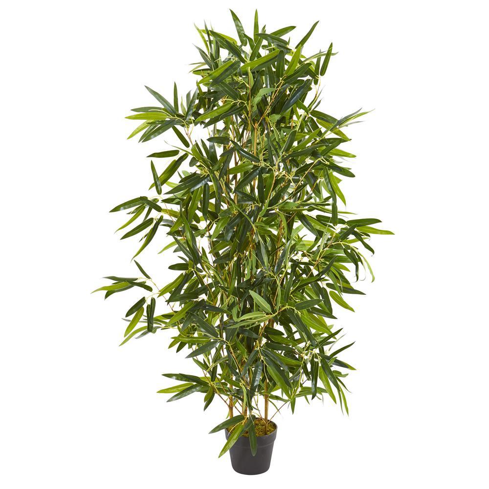 4 ft. Indoor/Outdoor Bamboo Artificial Tree