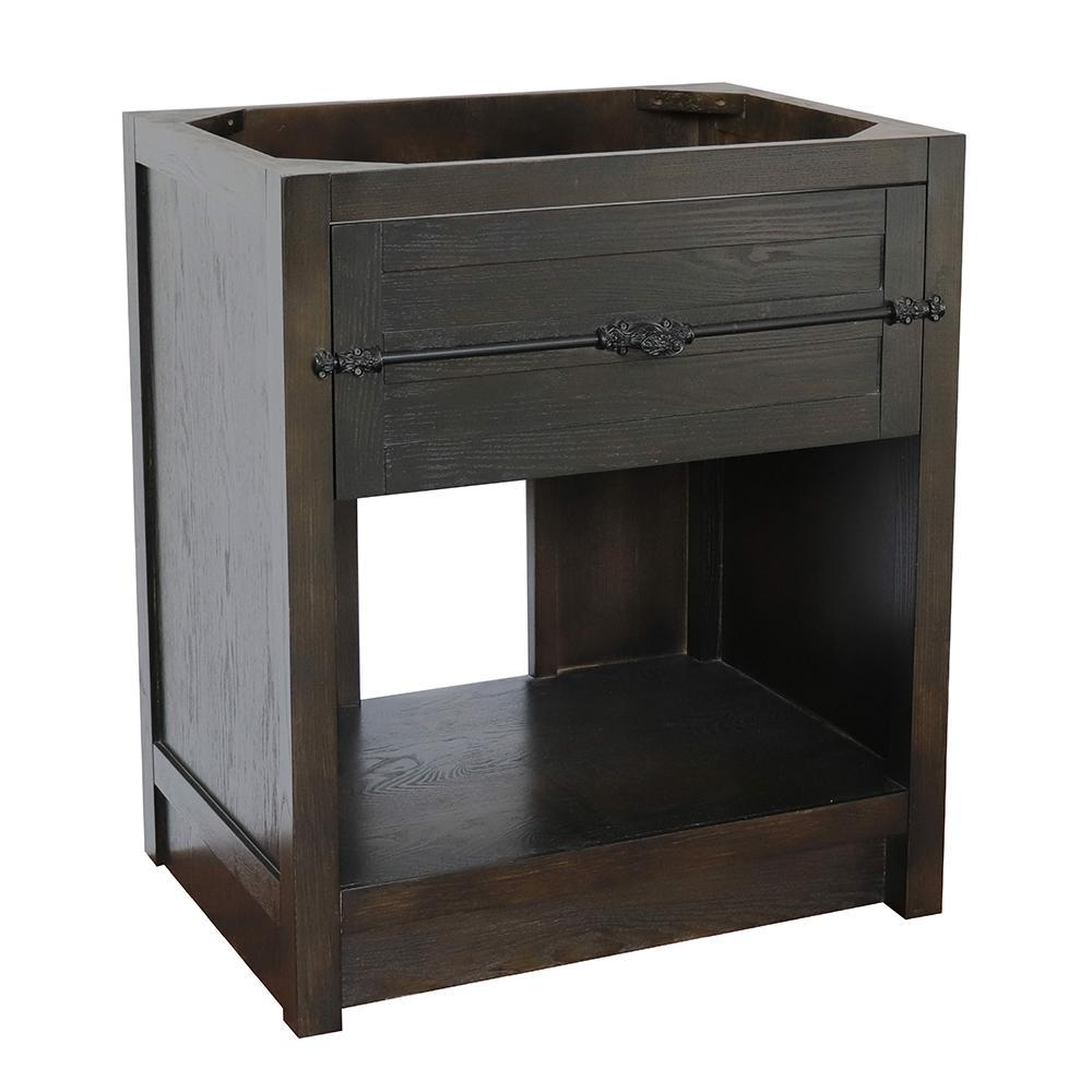Plantation II 30 in. W x 21.5 in. D Bath Vanity Cabinet Only in Brown
