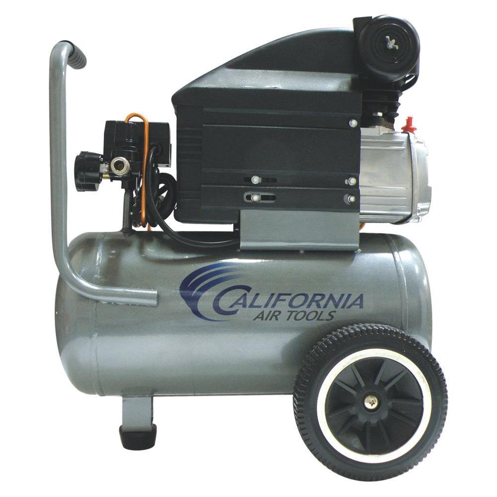 California Air Tools 6.3 Gal. 2 HP Steel Tank Oil-Lubricated Air Compressor