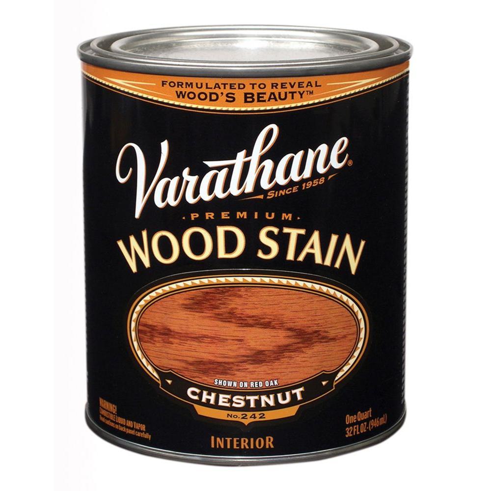 1-Qt. Chestnut Premium Interior Wood Stain
