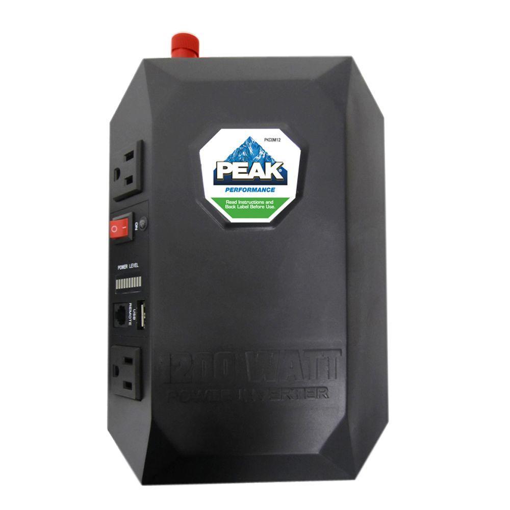 Peak 1200-Watt Mobile Power Outlet