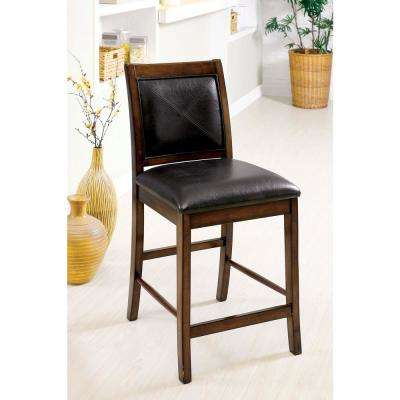 Living Stone II Tobacco Oak Transitional Style Counter Height Chair