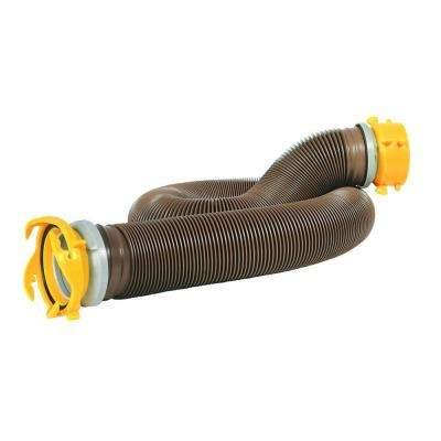 360 Revolution 10 ft. Heavy Duty Sewer Hose Extension with Swivel Fittings