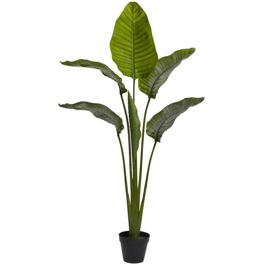 63 in. UV Resistant Indoor/Outdoor Travelers Palm Tree