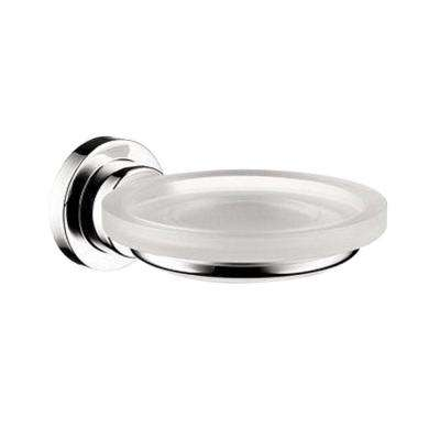 Axor Citterio Wall-Mounted Soap Dish and Holder in Chrome