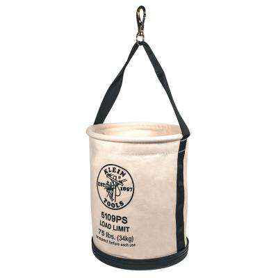 12 in. Canvas Straight-Wall Bucket