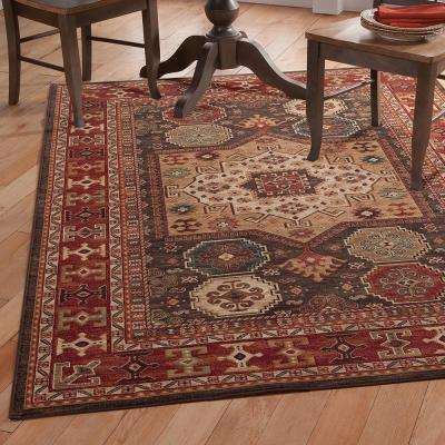 Sonoma Curran Chocolate 5 ft. 3 in. x 7 ft. 6 in. Area Rug