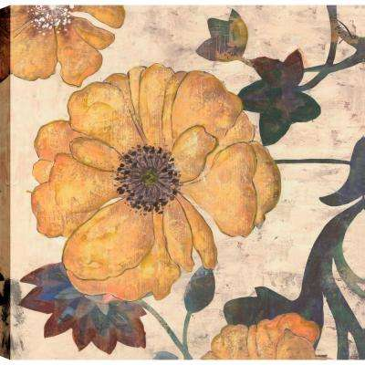 Floral print II, floral Art, Canvas Print Wall Art Dcor 24X24 Ready to hang by ArtMaison.ca