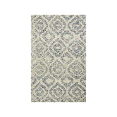Sasha 6629 Ivory/Blue Vista 5 ft. x 7 ft. Area Rug
