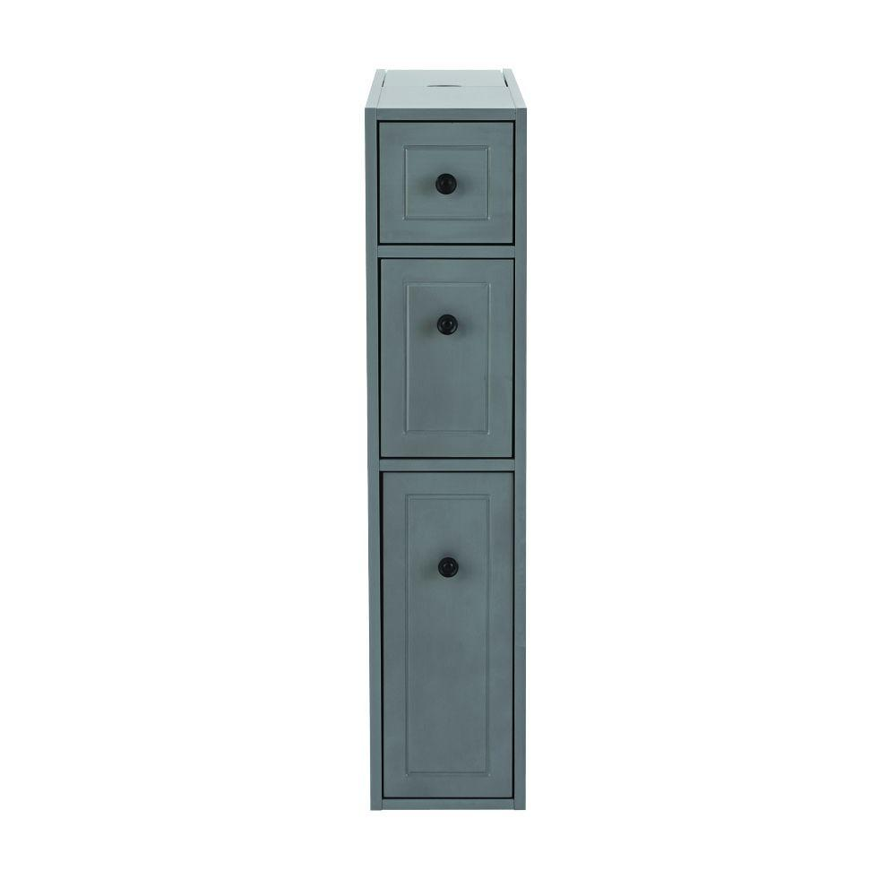 Weathered Gray Kitchen Cabinets: Home Decorators Collection Hamilton Distressed Grey