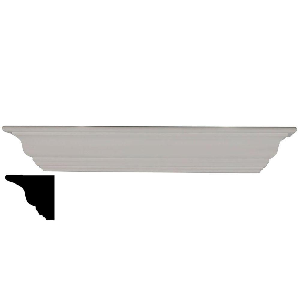 4-1/2 in. x 30 in. x 4-1/2 in. Polyurethane Classic Shelf