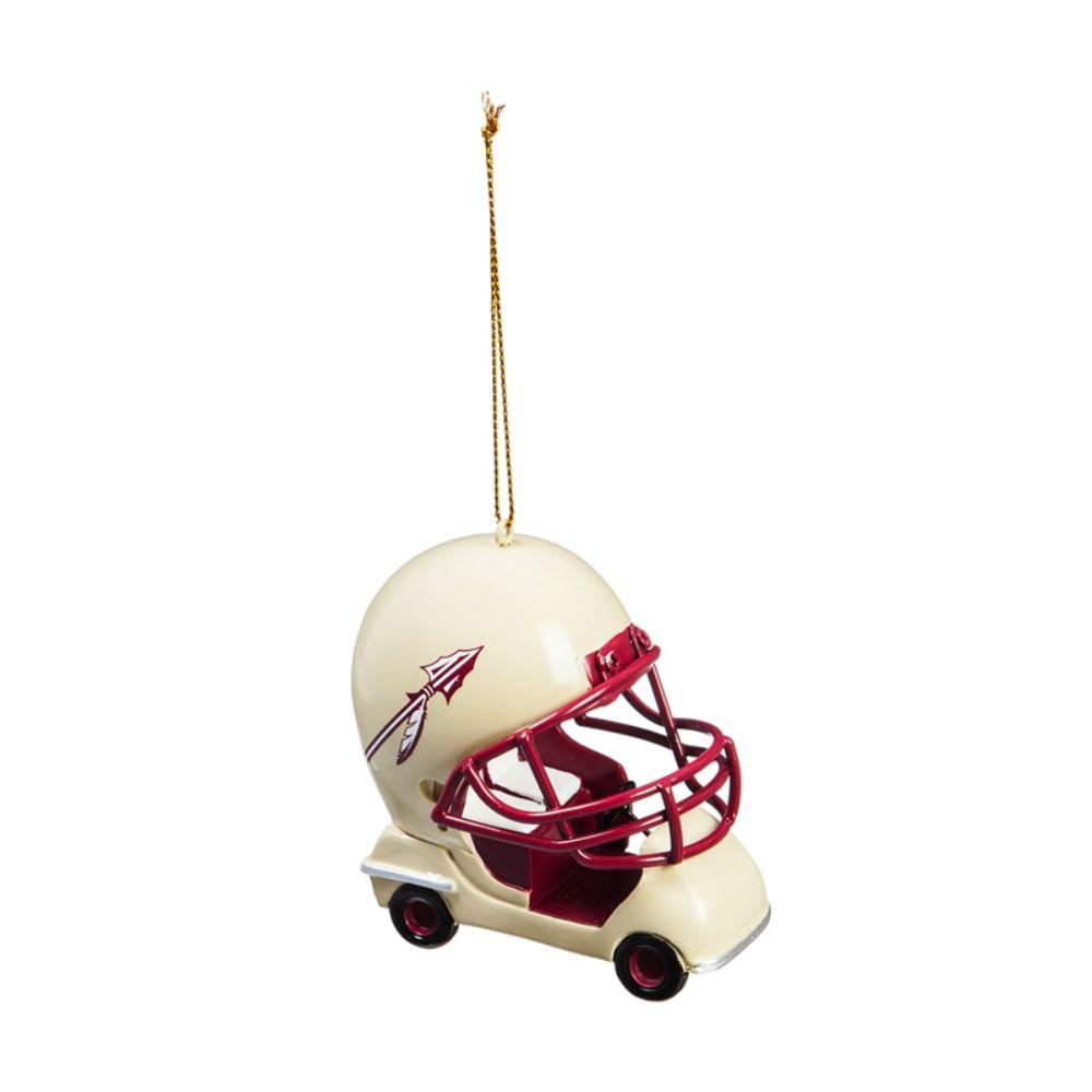 Team Sports America Florida State University 3 In Ncaa Field Car Christmas Ornament