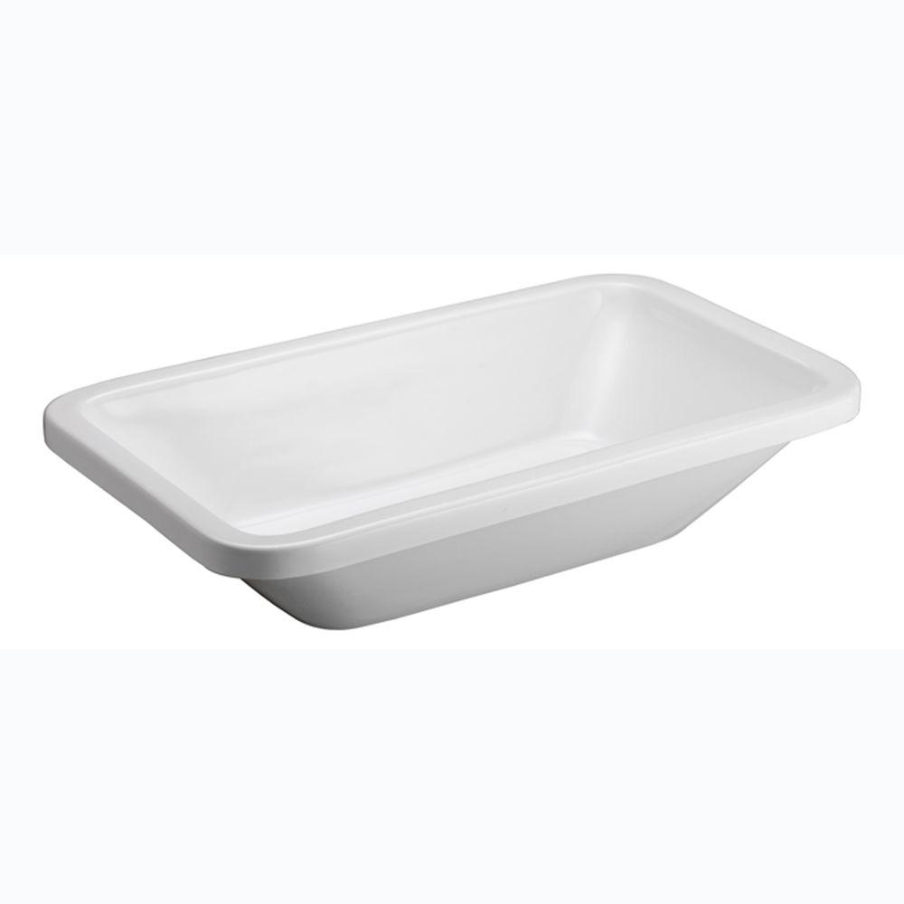 Barclay Products Santa Fe Vessel Sink in White