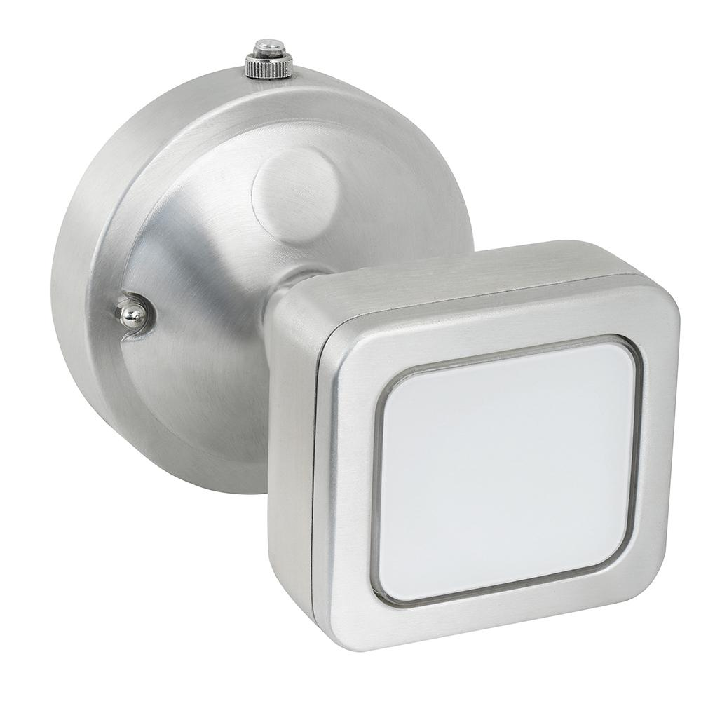 18.5-Watt Stainless Outdoor Integrated LED Mini Single Head Flood Light with
