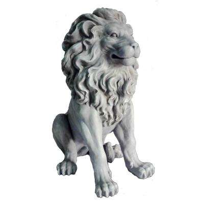 Clayfibre Lion Sitting Statue