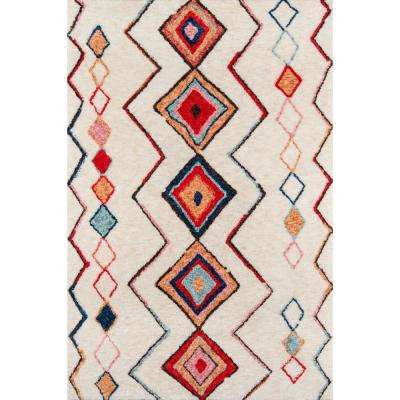 Bungalow Olivia Multi 9 ft. X 12 ft. Indoor Area Rug