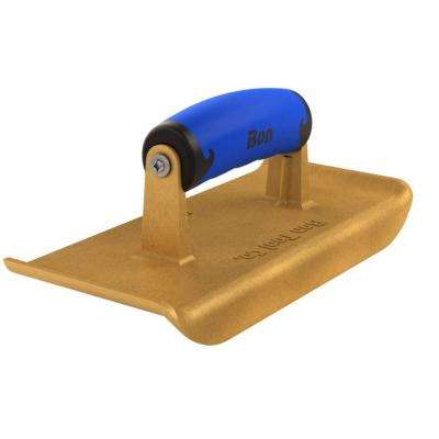 9 in. x 4 in. Bronze Jumbo Hand Edger with Comfort Wave Handle