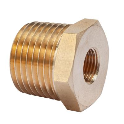 10 PACK ICS Industries 1//4 OD Brass Flare Nuts