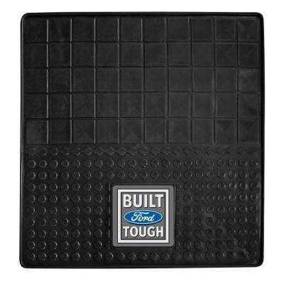 Built Ford Tough Heavy Duty 31 in. x 31 in. Vinyl Cargo Mat