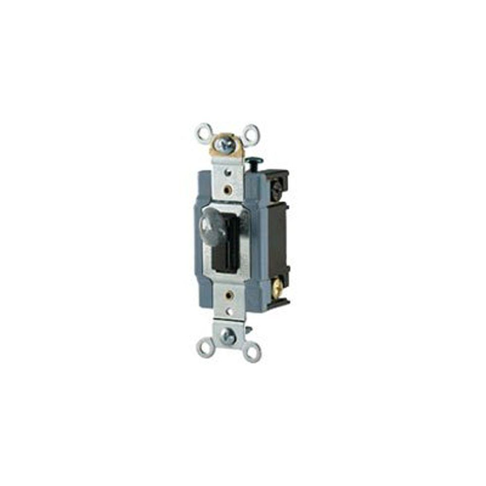 Eaton 20 Amp 120 277 Volt Industrial Grade 3 Way Toggle Switch Power To Fixture Wiring Diagram File