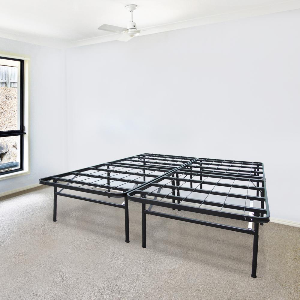 biopedic infiniflex king metal bed frame 45214 the home depot. Black Bedroom Furniture Sets. Home Design Ideas