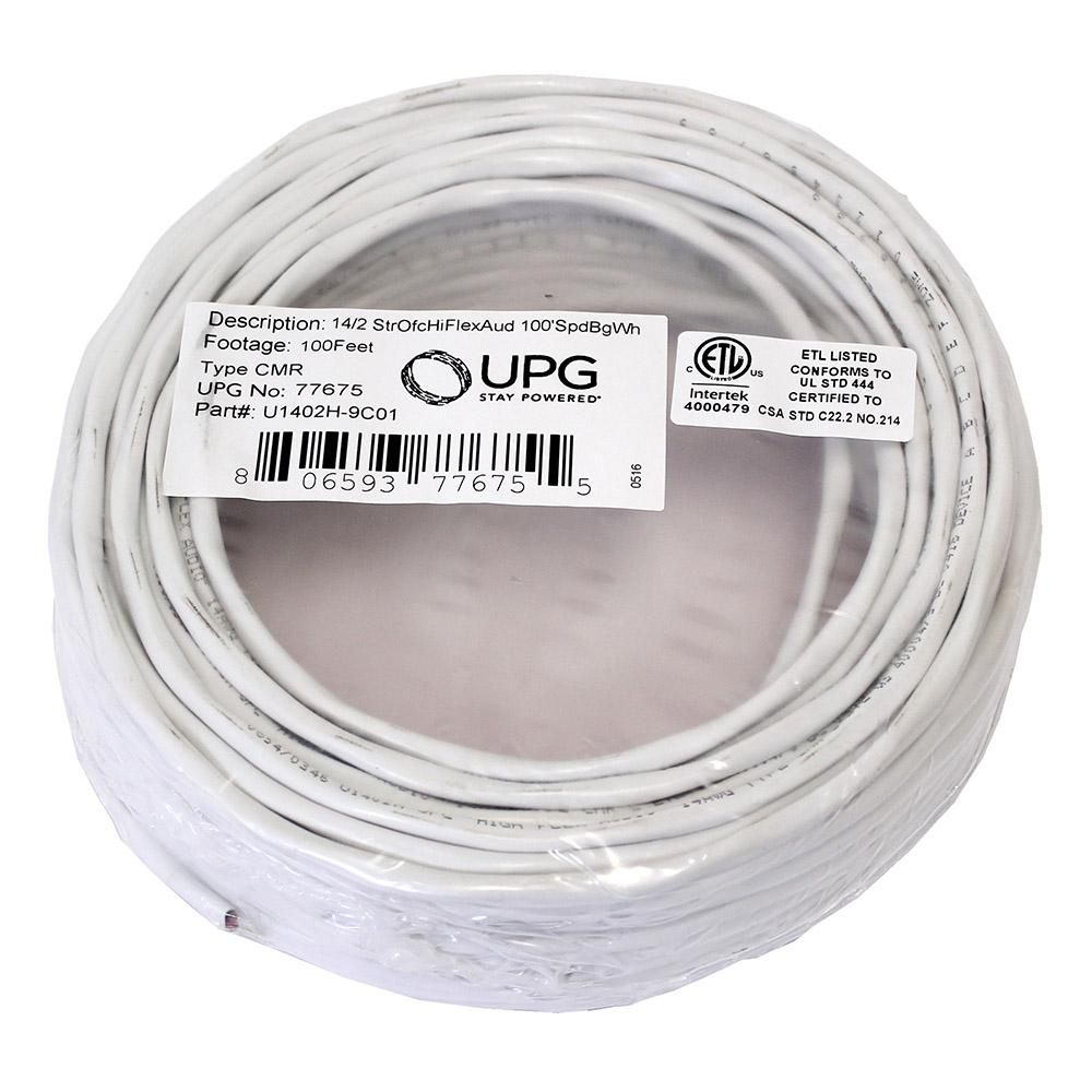 UPG U1402H-9C01 100 ft. 14 AWG Non-Shielded Audio Wire on