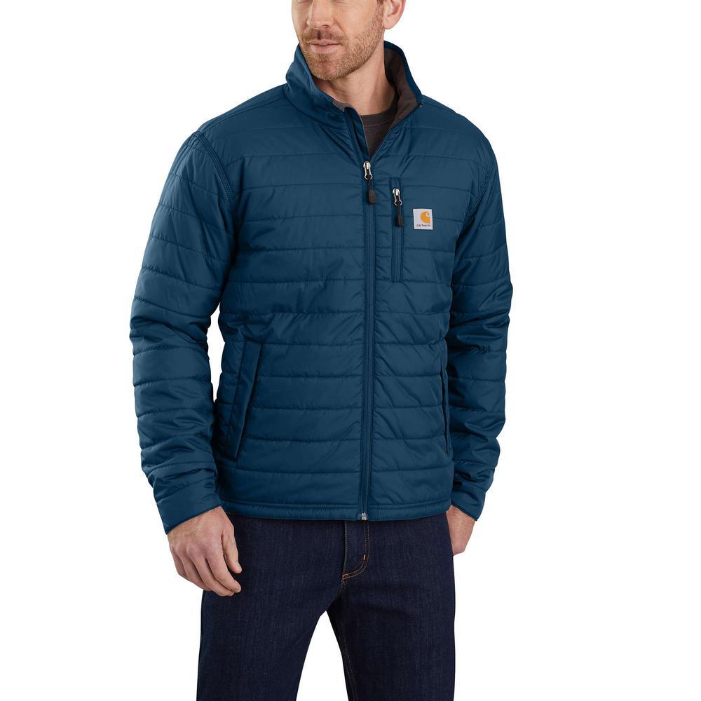 Men's Tall 2X-Large Dark Blue Nylon Gilliam Jacket