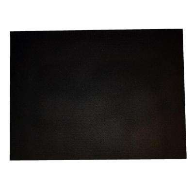 Secure Step Black 36 in. x 48 in. Recycled Rubber Entrance Mat