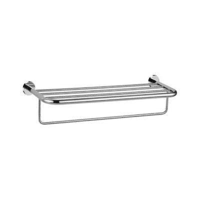 General Hotel Wall Mounted 1-Bar Towel Rack in Chrome