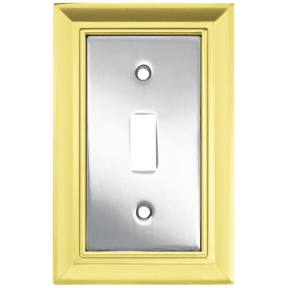 Liberty Architectural Metal 1 Gang Switch Wall Plate