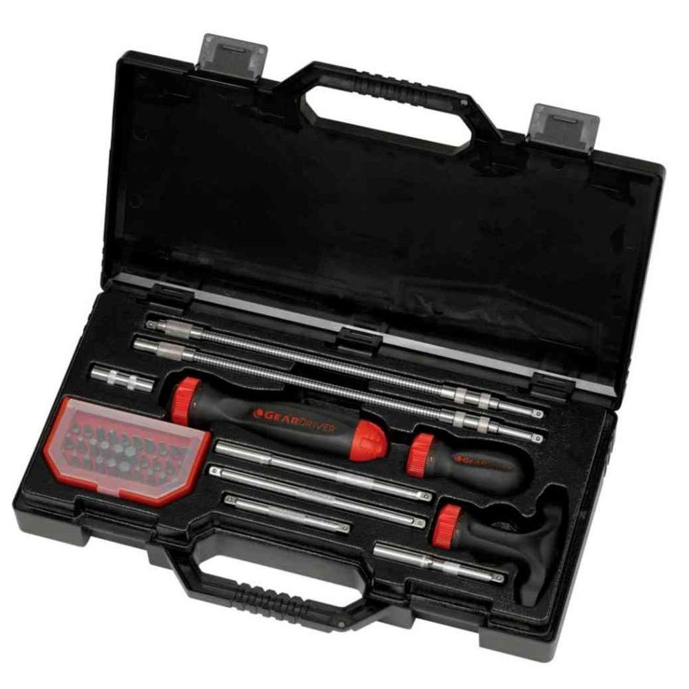 GearWrench GearWrench Ratcheting Screwdriver Set (40-Piece)