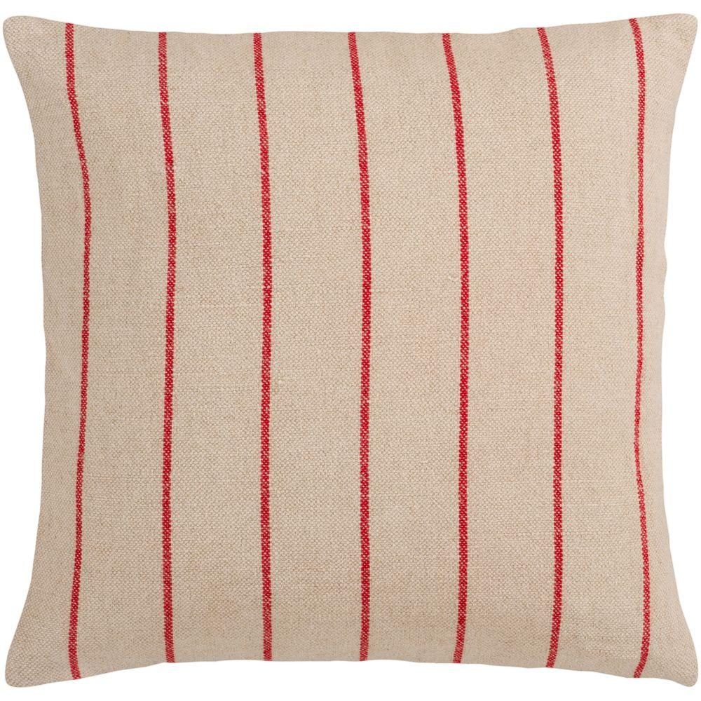 Artistic Weavers StripesB 18 in. x 18 in. Decorative Down Pillow-DISCONTINUED