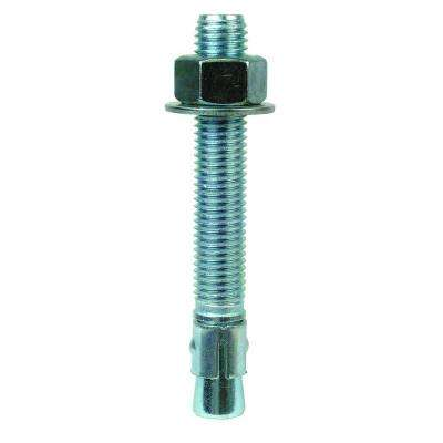Wedge-All 3/4 in. x 5-1/2 in. Zinc-Plated Expansion Anchor (10-Pack)