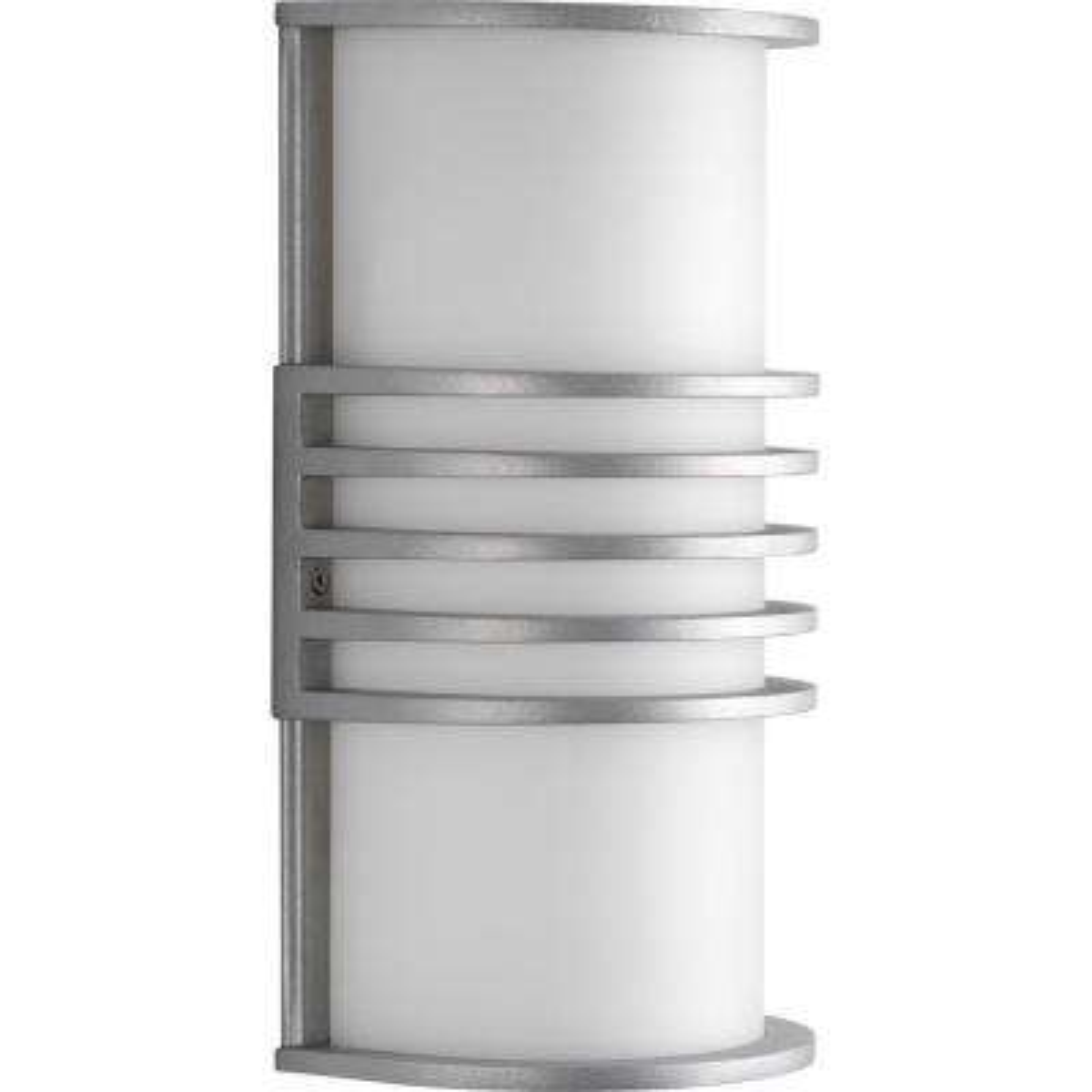 Parker Collection Satin Aluminum Outdoor Wall Lantern