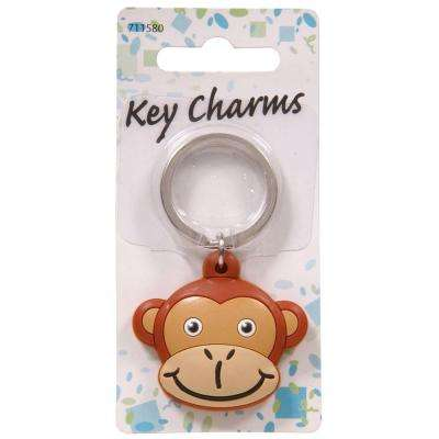 Monkey Head Key Chain (3-Pack)
